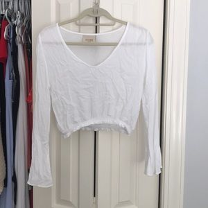 White Lucy Love Top
